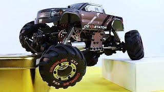 1/24 Scale Mini Crawler, WORLD'S BEST? - HBX 2098B Devastator RC Crawler