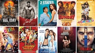 Top 10 Bollywood Movies of 2014 by Box Office Collection [In India]