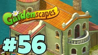 GARDENSCAPES NEW ACRES #56 Gameplay Story Playthrough | Area 10 New Castle Area Day 3