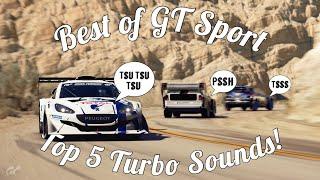 Best Of GT Sport: Top 5 Turbo Blow Off Sounds!