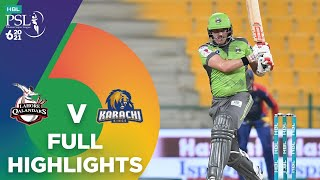 Full Highlights | Lahore Qalandars vs Karachi Kings | Match 27 | HBL PSL 6 | MG2T