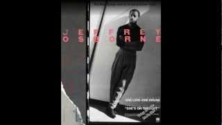Jeffrey Osborne - All because of you