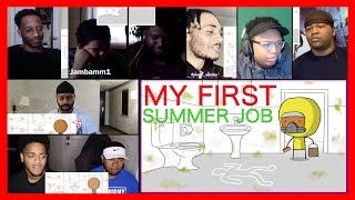 My First Summer Job By SWooZie Reaction Mashup