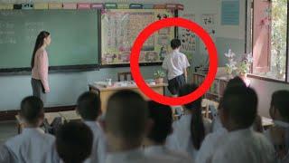 خاف كل طلاب الصف من تصرفات هذا الطفل .. و عندما دخلت مديرة المدرسة كانت المفاجئة كبيرة !!
