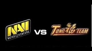 NaVi vs TongFu The International 3 TI3 2013 Game 3 Самая Лучшая Epic Best Игра Русские комментаторы