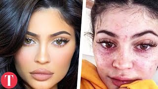 Unrecognizable Celebrities Without Makeup On In Real Life