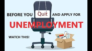 How to Apply for Unemployment IF YOU QUIT ANSWERS to FAQ During the COVID-19 Outbreak 3 of 3
