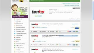How To Use GameStop Coupon Codes