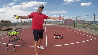 Get Your Child Moving On The Tennis Court