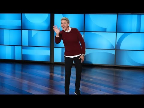 Ellen Analyzes Gift Unwrapping Styles