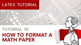 Learn LaTeX Tutorial (1): Basic Compiling, Titles, Sections ...