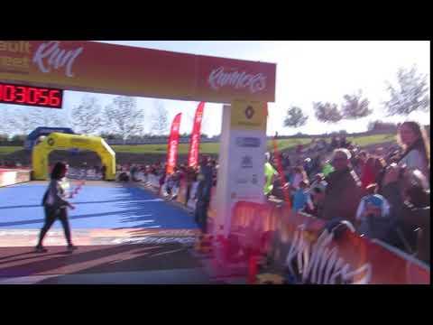 Llegada campeón 10km
