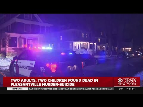 2 Adults, 2 Children Dead In Alleged Murder-Suicide