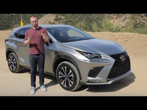 2020 Lexus NX 300 F Sport Test Drive Video Review