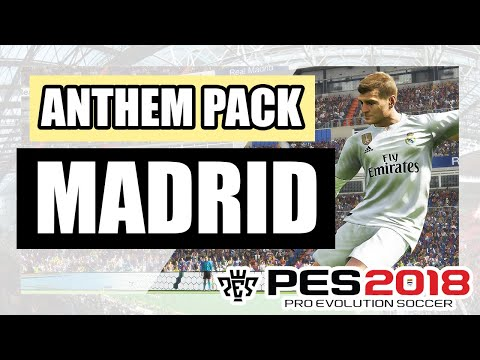 PES 2019 Real Madrid New Entrance Theme (Hala Madrid) (OBH Entrance Theme Pack)