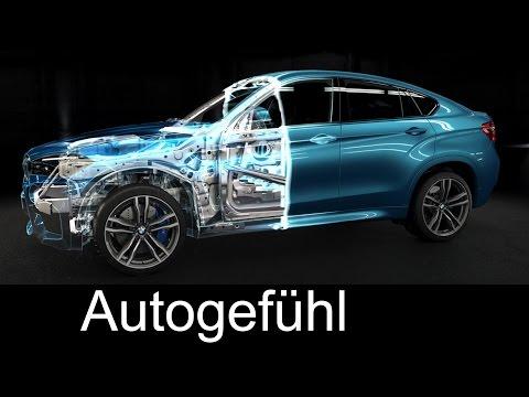 New BMW X5 M & BMW X6 M technology animation engine, chassis & gearbox - Autogefühl