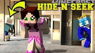 Minecraft: ADVENTURE TIME HIDE AND SEEK!! - Morph Hide And Seek - Modded Mini-Game