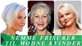 frisurer kort hår ældre kvinder
