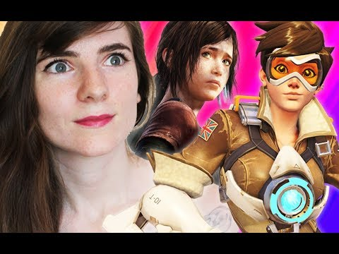 Reacting to Lesbian Video Game Characters!