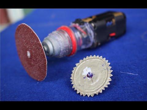 Machen Sie eine Mini Schleifmaschine | Handschneidemaschine