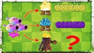 Plants vs Zombies 2 Mod - Hypno  Peashooter vs All Gargantuar