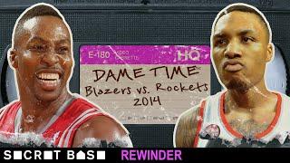 Damian Lillard's first series-winning buzzer-beater needs a deep rewind | 2014 Blazers vs. Rockets thumbnail