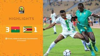 CHAN 2020 | 1er tour – Groupe A : Burkina Faso 3-1 Zimbabwe
