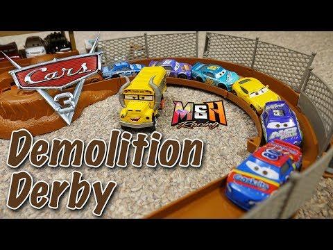 Cars 3 Piston Cup Tournament: Demolition Derby