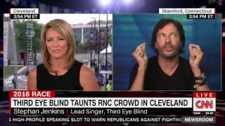 Third Eye Blind Singer Rambles About How Bad Those Republicans Are During Incoherent Interview