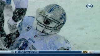 Lions vs Eagles 2013 Highlights Snow Game