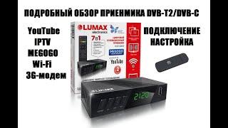 Ресивер dvb T2 Витязь dtr 822hd fta