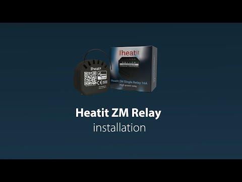 Heatit ZM Relay 16A Installation
