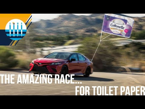 We Race To Costco...FOR TOILET PAPER in the 2020 Toyota Camry TRD