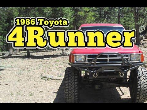 Regular Car Reviews: 1986 Toyota 4Runner