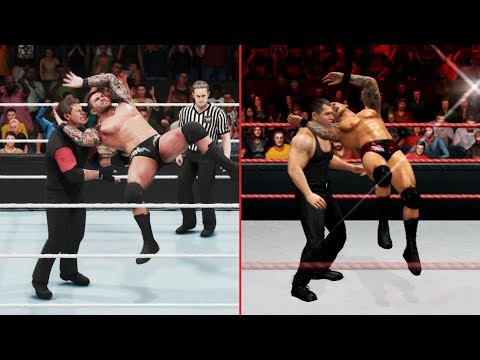 WWE 2K19 VS SVR 2011 - 30 FINISHER COMPARISONS (Which Are Better?)