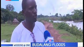 Fear as poorly constructed dykes expose Budalangi residents to raging floods from river Nzoia