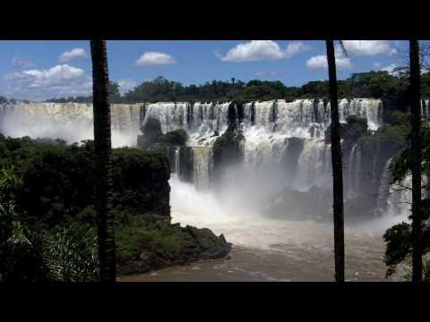 Iguazu Falls Wide View – Argentina Side