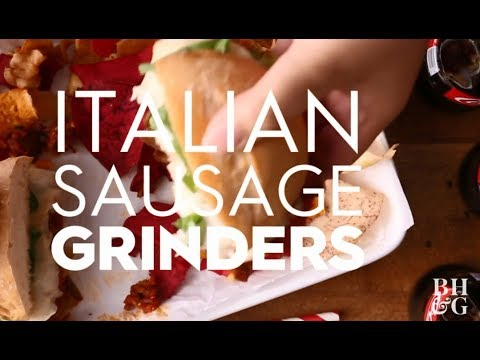 Italian Sausage Grinders | Cooking: How-To | Better Homes & Gardens
