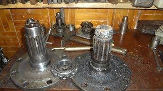 Реставрация ступица передняя МТЗ-82 сварка, токарка.