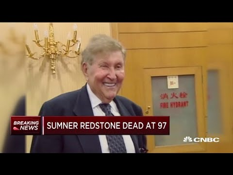 Billionaire media mogul Sumner Redstone dead at age 97