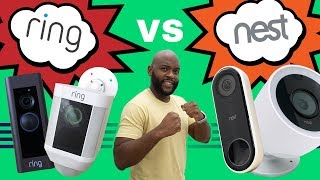 Ring vs Nest - Security Systems, Doorbells, Cameras and More Compared (AKA Amazon vs Google)