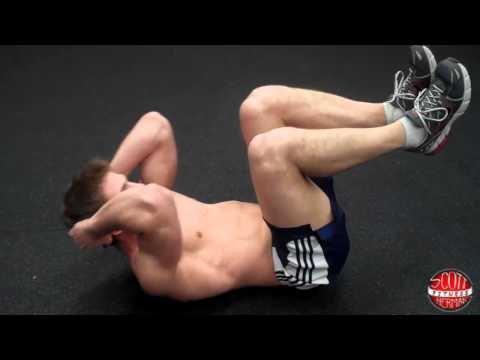 Elbow-to-Knee Crunch