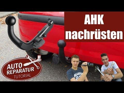 Anhängerkupplung nachrüsten | AHK Montage mit E-Satz Anleitung | Reparatur Tutorial