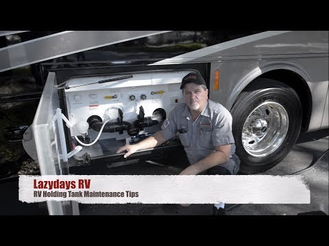 RV Holding Tank Maintenance Tips