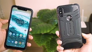 Moto One Power Best Case + Tempered Glass Combo Review