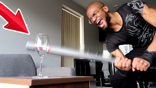THIS WINE GLASS CANNOT BE SMASHED - IMPOSSIBLE CHALLENGE