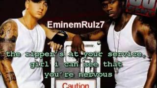 50 Cent - Psycho (feat. Eminem) + Lyrics On Screen