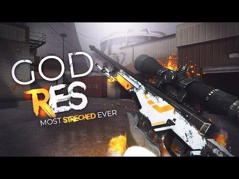 THE MOST STRETCHED RESOLUTION IN CSGO!! - смотреть онлайн на Hah Life