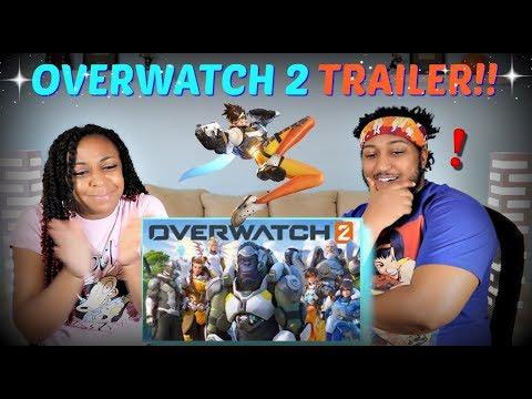 "Overwatch 2 Announce Cinematic   ""Zero Hour"" REACTION!!"