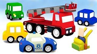 Мультики для детей - 4 машинки все серии подряд